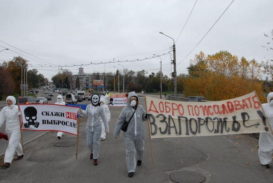 Air Pollution in Zaporizhia