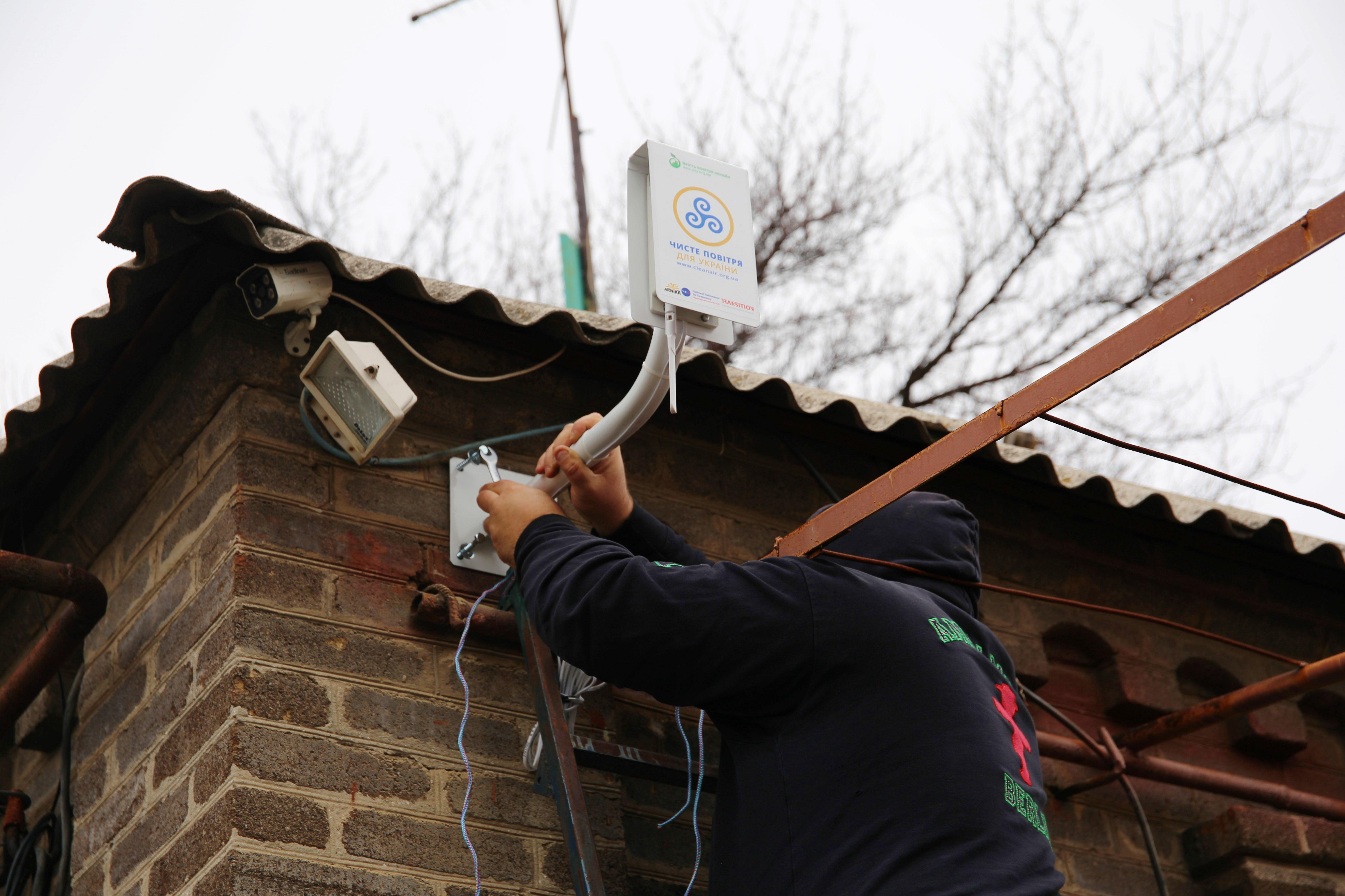 «Чистый воздух для Украины»: 25 станций общественного мониторинга Oxygen открыли доступ к эко-данным в промышленных городах