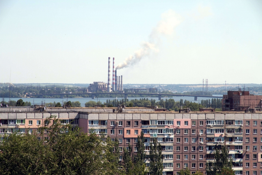 Air pollution in Dnipropetrovsk Oblast